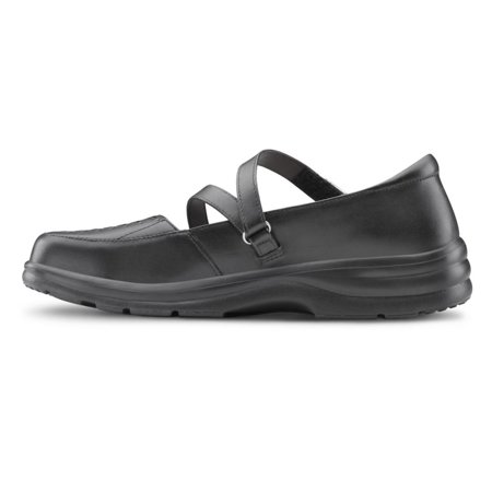 54406acb8e8b Dr. Comfrot - Dr. Comfort Betsy Womens Casual Shoe Black - Walmart.com