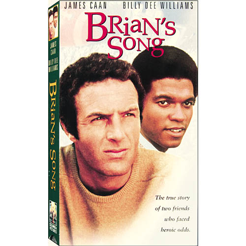 Brian's Song (1971) Vintage VHS Tape - (James Caan / Billy Dee Williams)