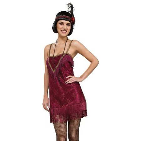 Rubies Jazz Diva Sexy Retro Roaring 20s Flapper Jazz Halloween Costume (Roaring 20s Outfits)