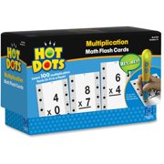 Hot Dots, EII2759, Hot Dots Multiplictn Flash Cards, 36, Multi
