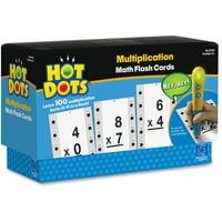 Hot Dots, EII2759, Hot Dots Multiplictn Flash Cards, 36, Multi