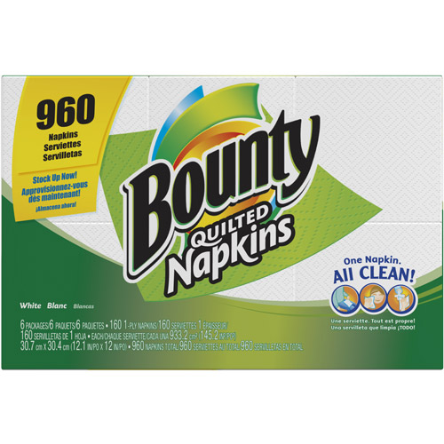 Bounty Quilted Napkins, 960ct
