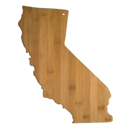 Totally Bamboo California State Shaped Bamboo Serving and Cutting Board ()