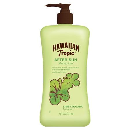 (2 pack) Hawaiian Tropic Lime Coolada After Sun Moisturizer - 16