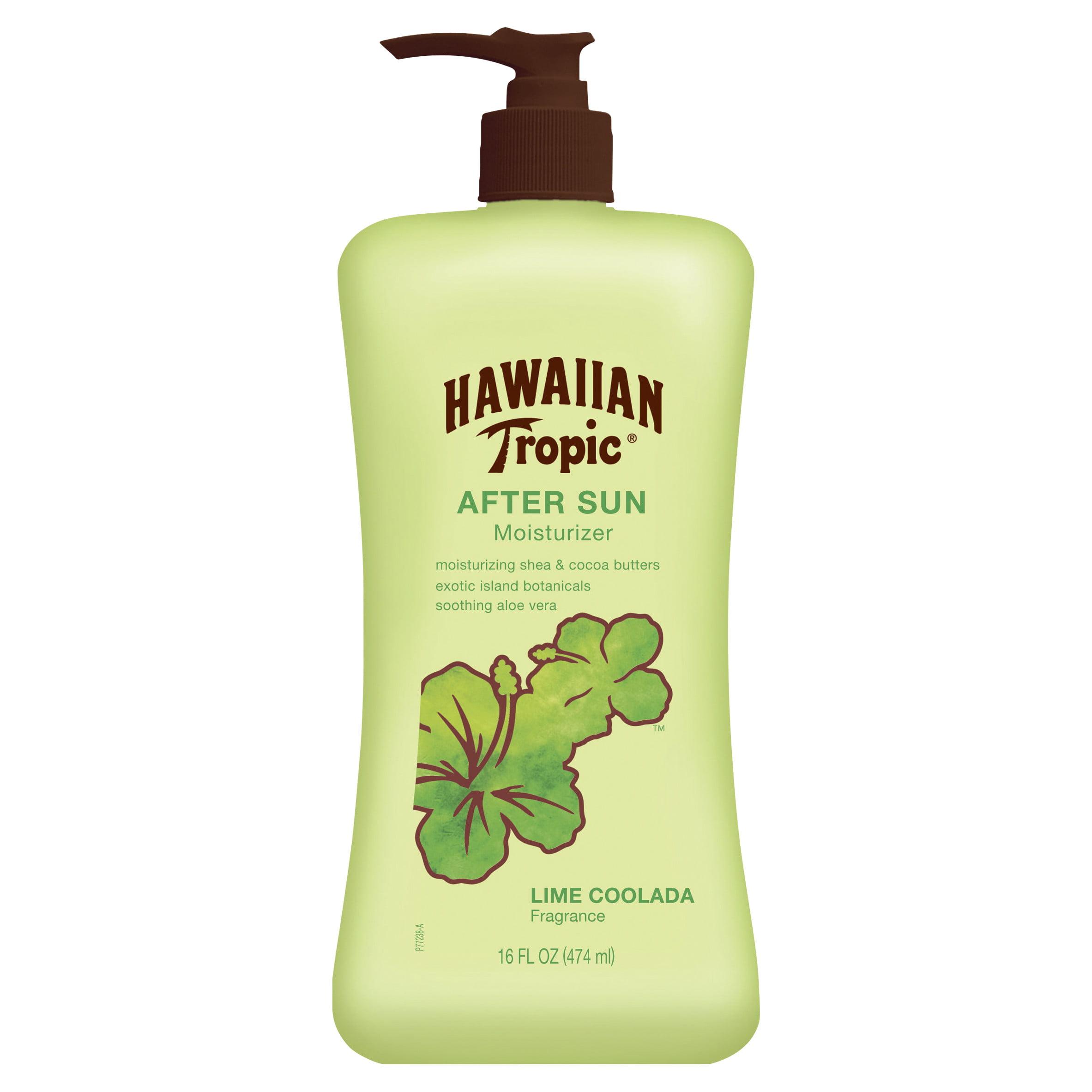 Hawaiian Tropic Lime Coolada After Sun Moisturizer - 16 Ounces
