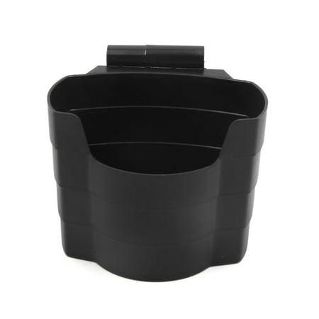 Black Plastic Car Air Vent Mobile Phone Drinks Storage Holder Organizer Box Case - image 2 of 3