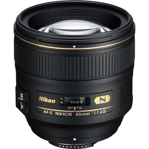 Nikon 85mm f/1.4 G AF-S Nikkor Lens