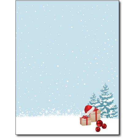 Christmas Morning Holiday Stationery Paper - 80 Sheets for $<!---->