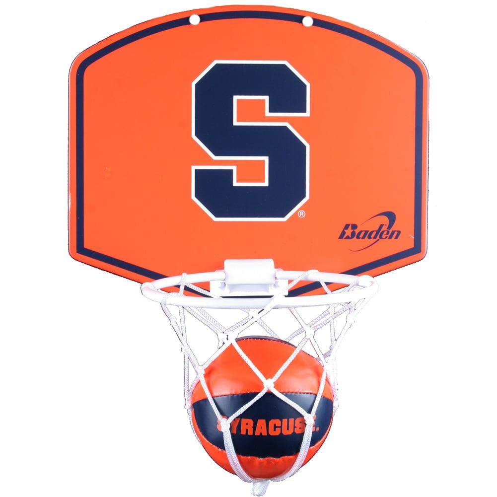 Syracuse Orange Mini Basketball And Hoop Set Walmart Com