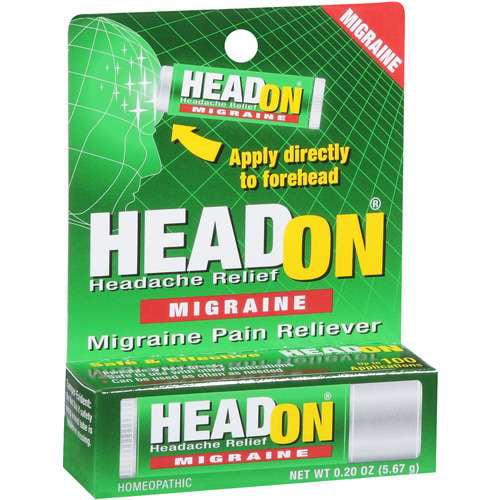 Headon Headache Migraine Pain Reliever .2 Oz