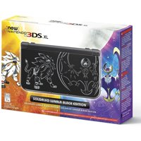 Nintendo 3DS XL Solgaleo Lunala Black Edition Gaming System