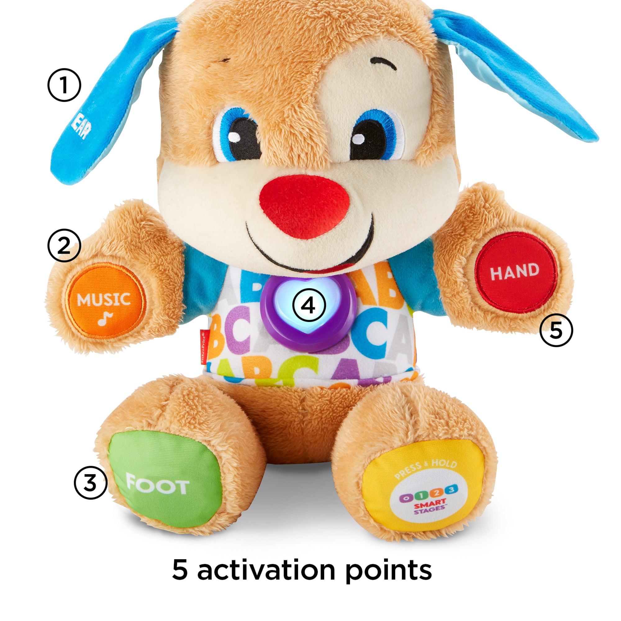 Interactive toy scientist puppy (Fisher-Price): description 53