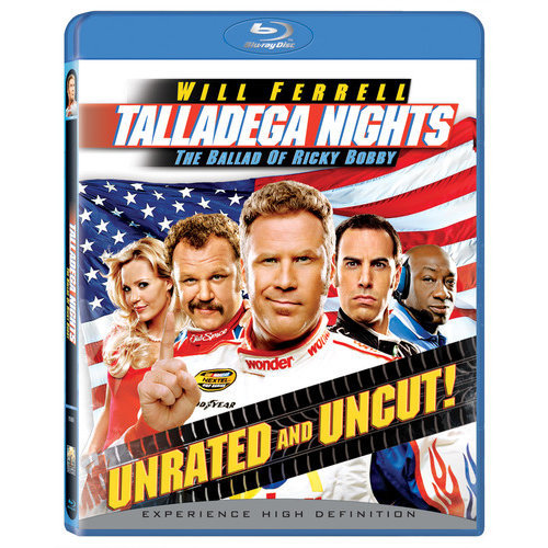 Talladega Nights: The Ballad Of Ricky Bobby (Unrated) (Blu-ray) (With INSTAWATCH) (Widescreen)