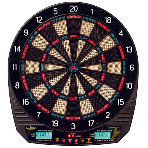 Arachnid Dartronic 300 Electronic Dart Board w/ Heckler Feature