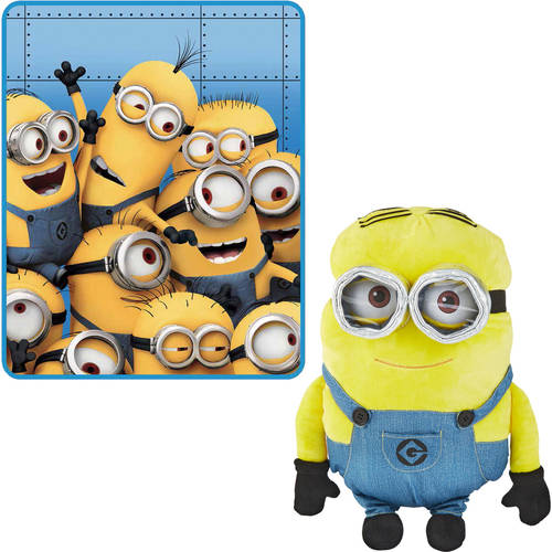Choose Your Minions Throw and Pillow Buddy