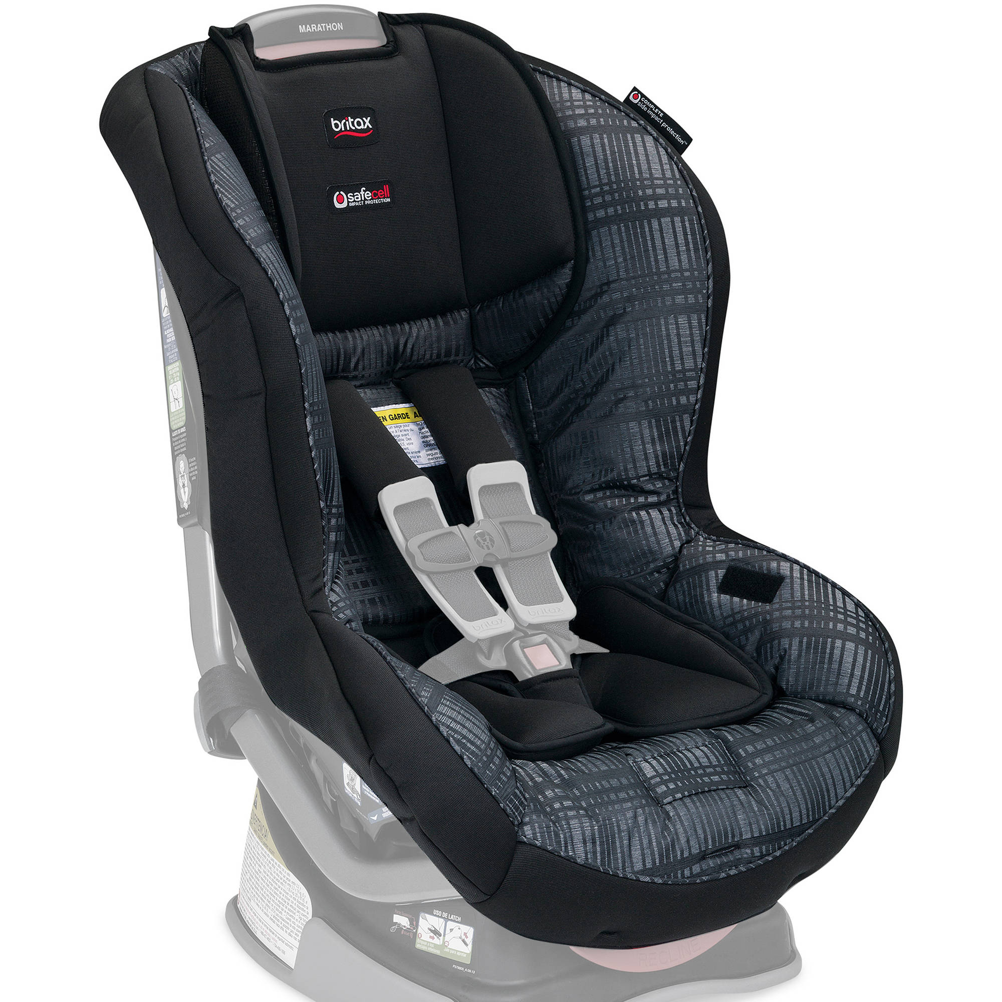 Britax Car Seat Cover Set, Marathon Convertible, Domino