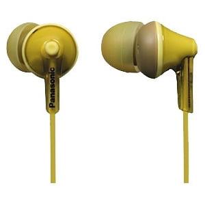 Audifonos Estéreo Panasonic RP-HJE125 Ergo Fit auriculares - amarillo + Panasonic en Veo y Compro