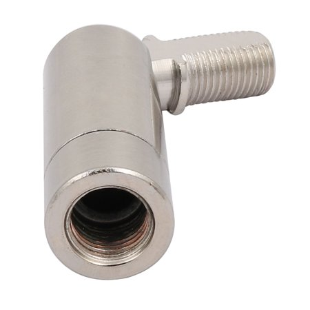 M10 Thread LED Lamp Plated Steering Head Universal Joint Sliver Tone - image 2 of 3
