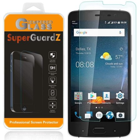 [3-PACK] For ZTE Blade V8 Pro - SuperGuardZ Tempered Glass Screen Protector, 9H, Anti-Scratch + 2 Stylus Pens - image 3 of 3