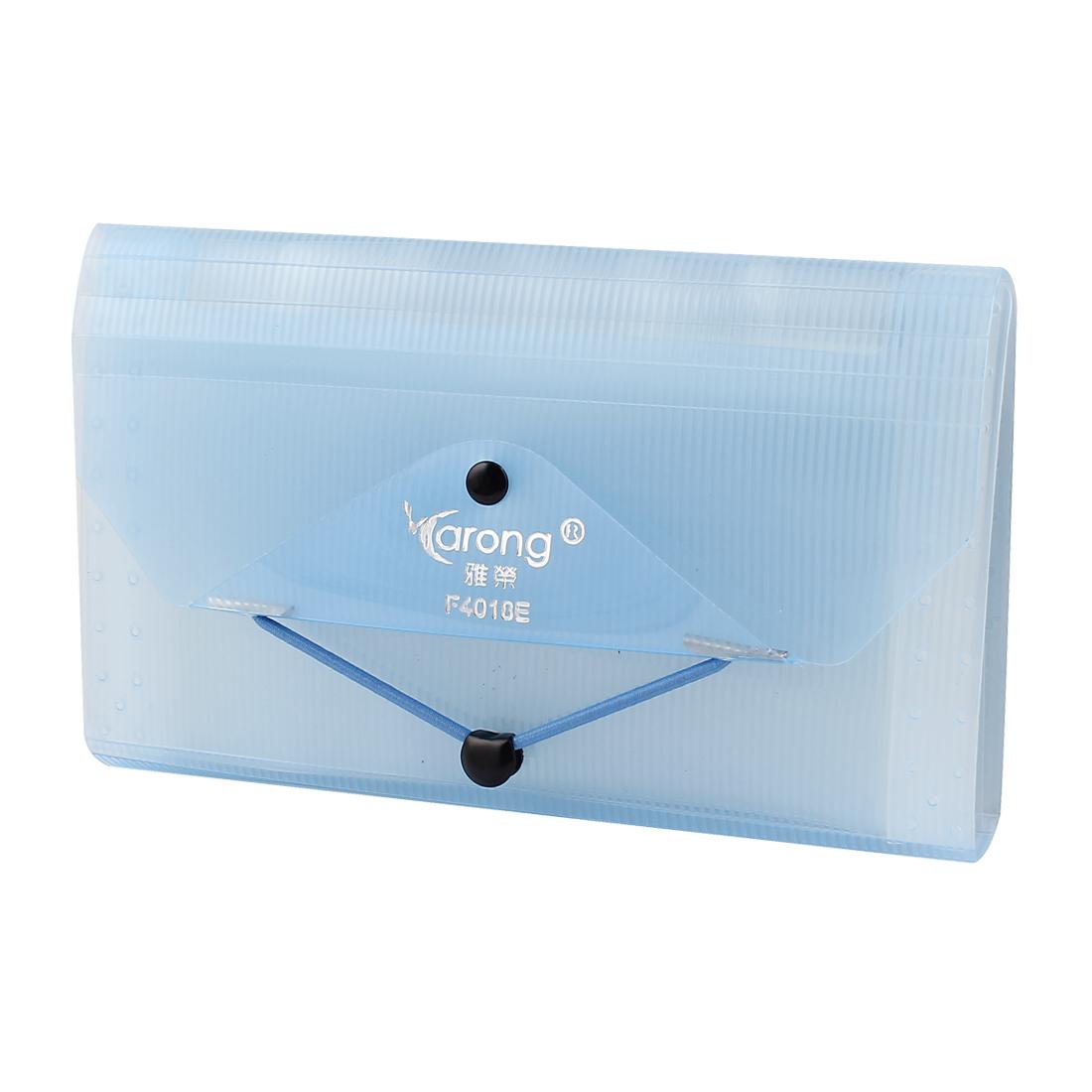0f7989619ede Envelope Size Expanding 13 Pocket File Coupon Accordion Organizer Folder