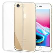 iPhone 8 Case, Premium Soft Slim Thin TPU Cover Anti Scratch Shockabsorption Clear Case for iPhone 8