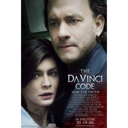 The Da Vinci Code POSTER Movie V Mini Promo - Go Minis Promo Code