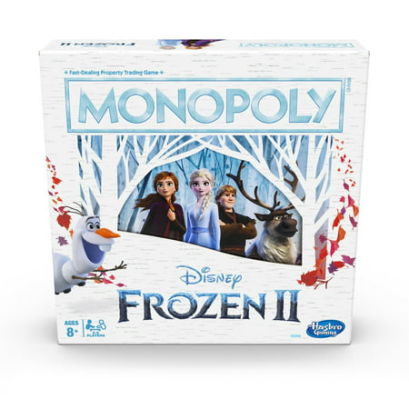 Monopoly Game: Disney Frozen 2 Edition Board Game for Ages 8 and Up ()