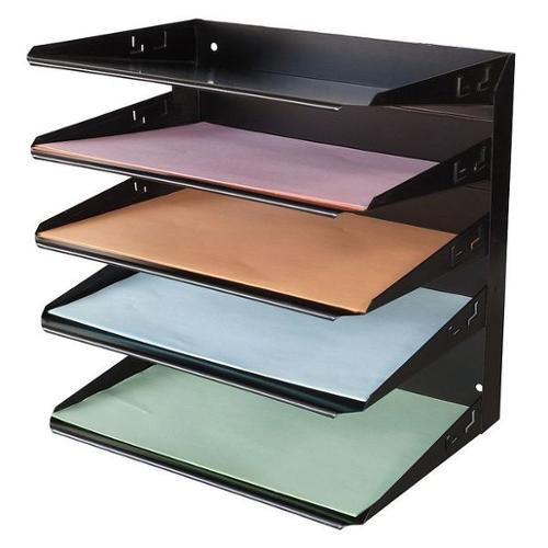 DTO1212 Desk Organizer, 5 Horizontal Compartment