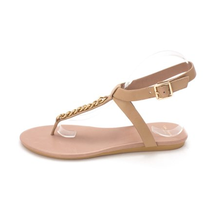 Cole Haan Womens 14A4042 Open Toe Casual TStrap Sandals Maple Sugar Size 60