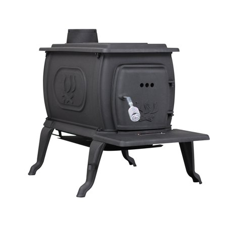 94,000 BTU EPA Certified Cast Iron Logwood Stove,