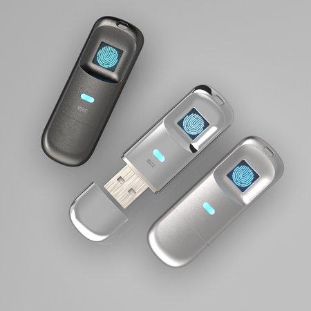 USB2.0/3.0 Fingerprint Code Accurate Identificaiotn Management U Disk 32G/64G/128G Optional - image 4 of 7