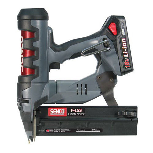Factory-Reconditioned SENCO 6U0001R Cordless Fusion 2-1/2 in. 16-Gauge Finish Nailer (Refurbished)