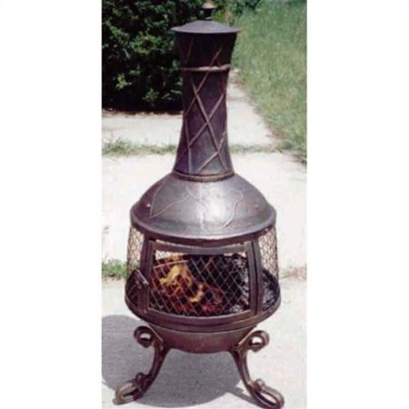 Oakland Living Elite Chimenea Antique Bronze Photo