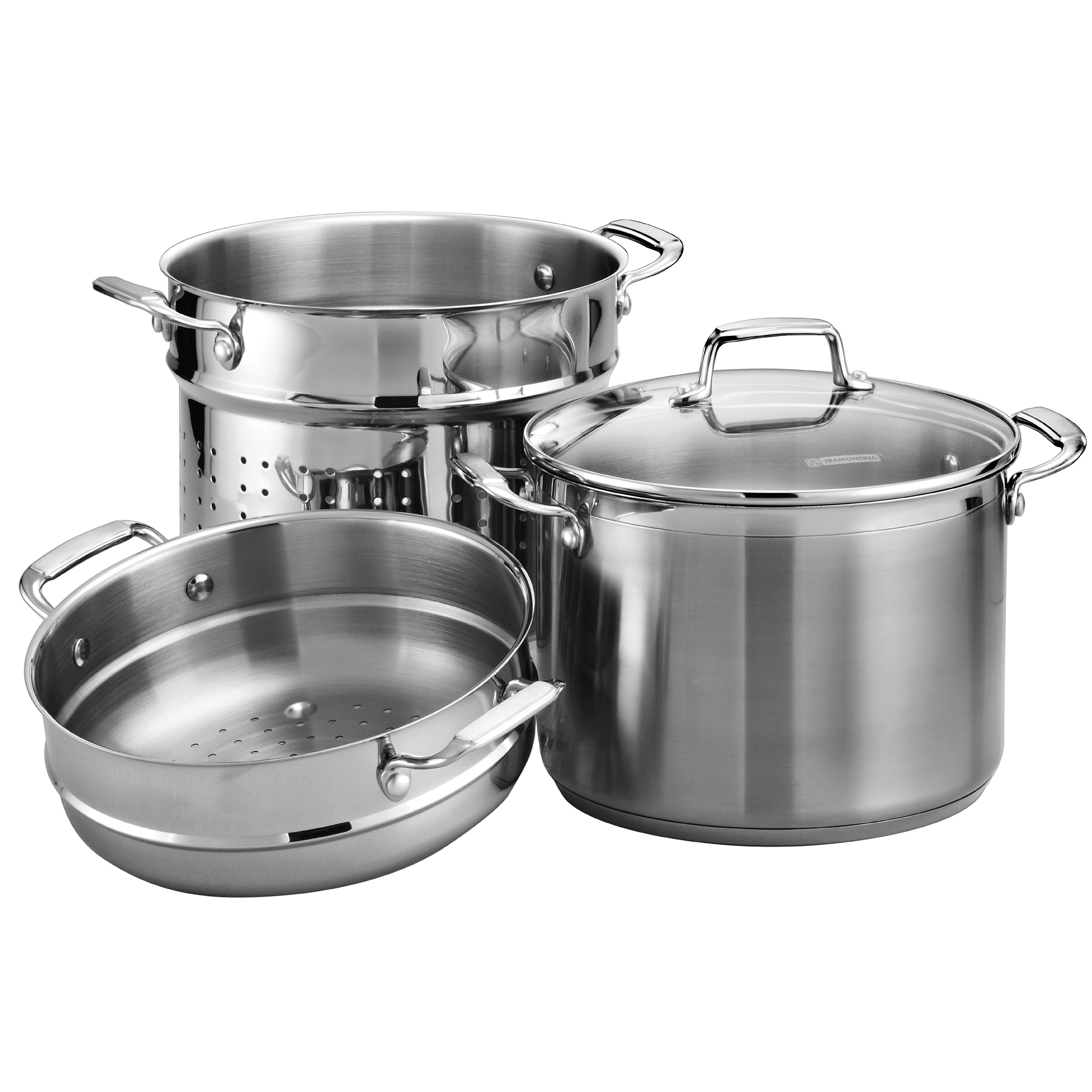 Tramontina Gourmet 4-Piece 8-Quart Covered Multi-Cooker