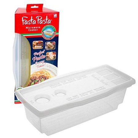 - Microwave Pasta Cooker The Original Fasta No Mess, Sticking or Waiting For Boil