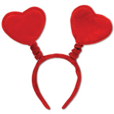 Halloween Bopper Headbands (Heart Head Bopper Adult Halloween Costume)