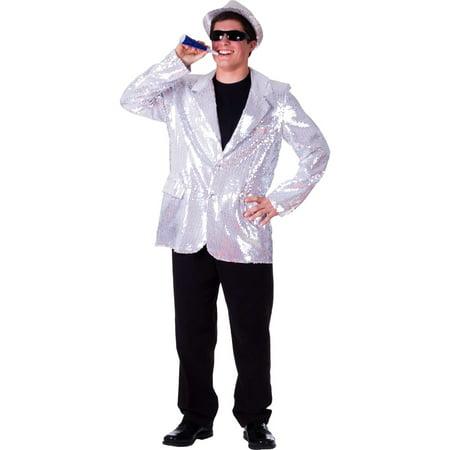 Dress Up America  Men's Sequin Jacket](Gold Sequin Blazer)