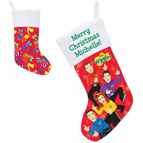 Personalized The Wiggles Dance Stocking