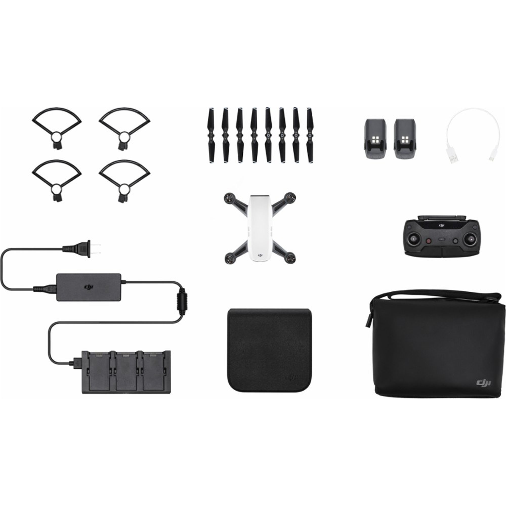 Dji Spark Fly More Combo Drone - Alpine White