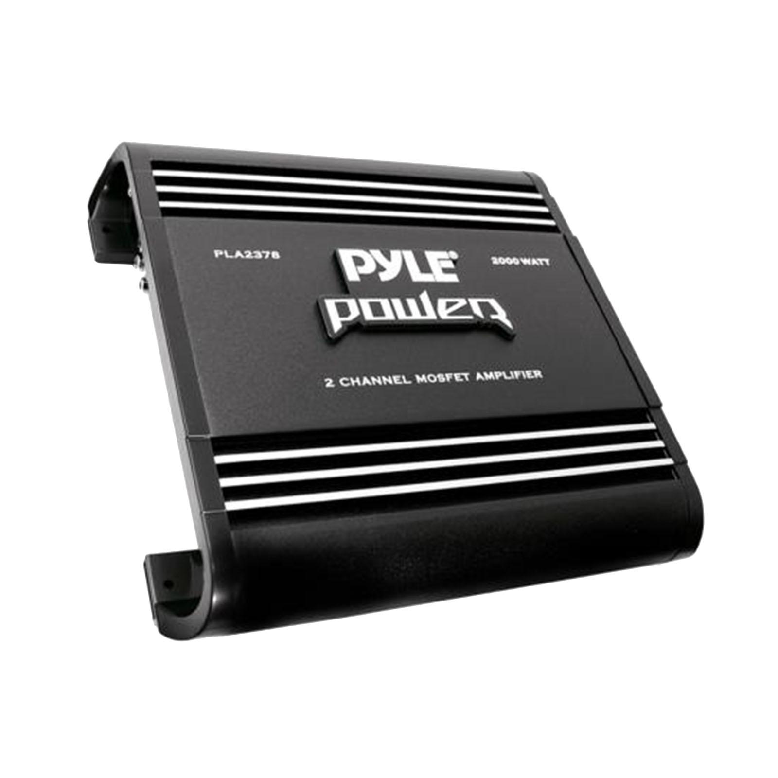"""PYLE PLA2378 - 2"""" Channel 2,000-Watt Bridgeable Mosfet Amplifier"""