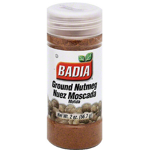Badia Ground Nutmeg, 2 oz (Pack of 12)