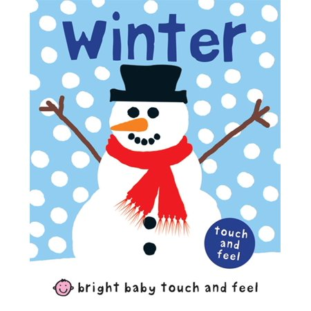 Bright Baby Touch and Feel Winter (Board Book) - Great Halloween Books For Toddlers