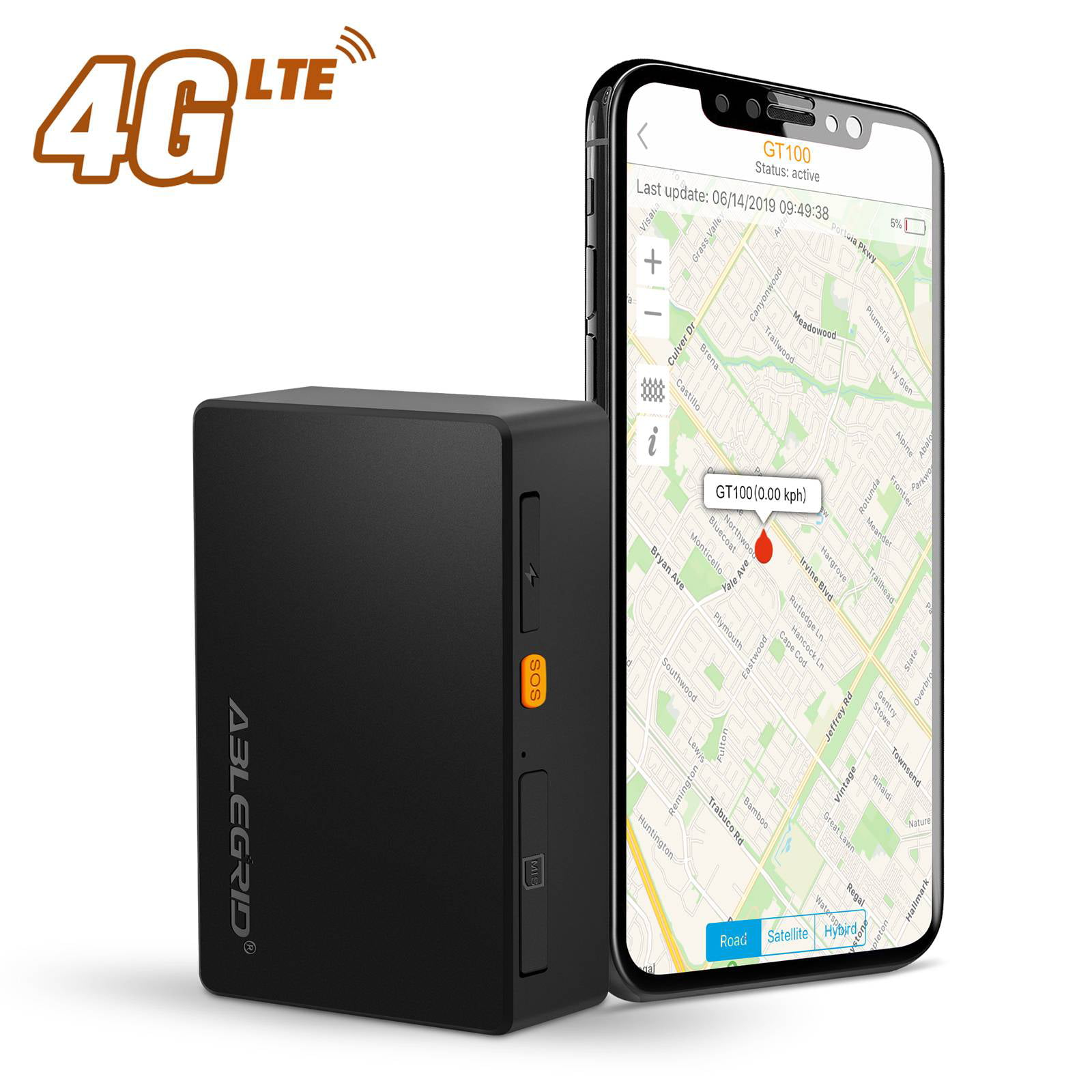 Portable Magnetic Hidden GPS Tracker for Car Vehicle Tracking Device Real TIME
