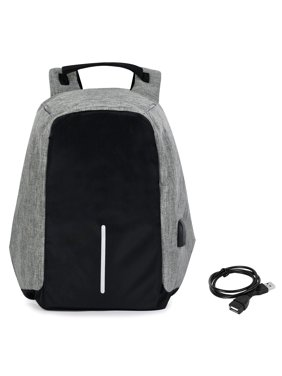 76240598f9ea Product Image Allcaca Unisex Laptop Backpack Water Resistant Anti-theft  College Backpack with USB Charging Port 13.3