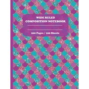 Wide Ruled Composition Notebook (Paperback)