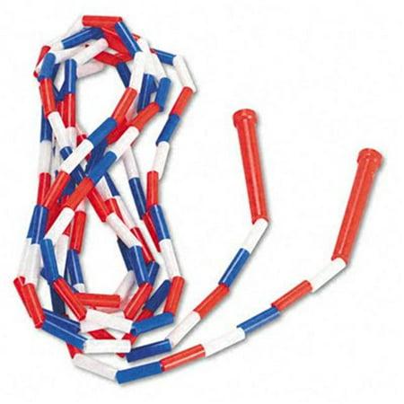 Corde - sauter en plastique segment- PR16 Sport de 16 pieds Rouge / bleu / blanc - image 1 de 1