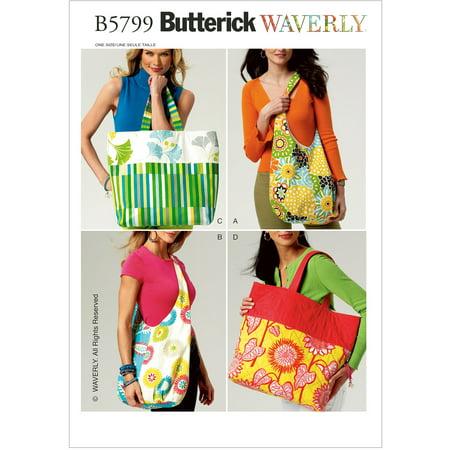 Butterick Pattern Market Bags, 1 Size - Buttericks Halloween