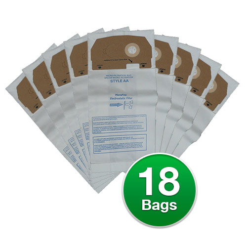 Replacement Vacuum Bags for Eureka 58236C / Style AA (6 P...