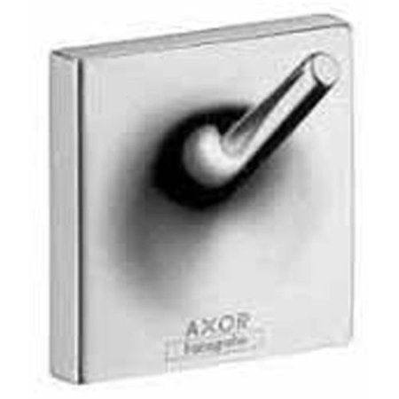 Hansgrohe Axor 42737000 Starck Organic Wall-Mounted Single Robe Hook, Chrome