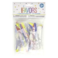 Airplane Glider Kit Party Favors, Assorted, 8ct